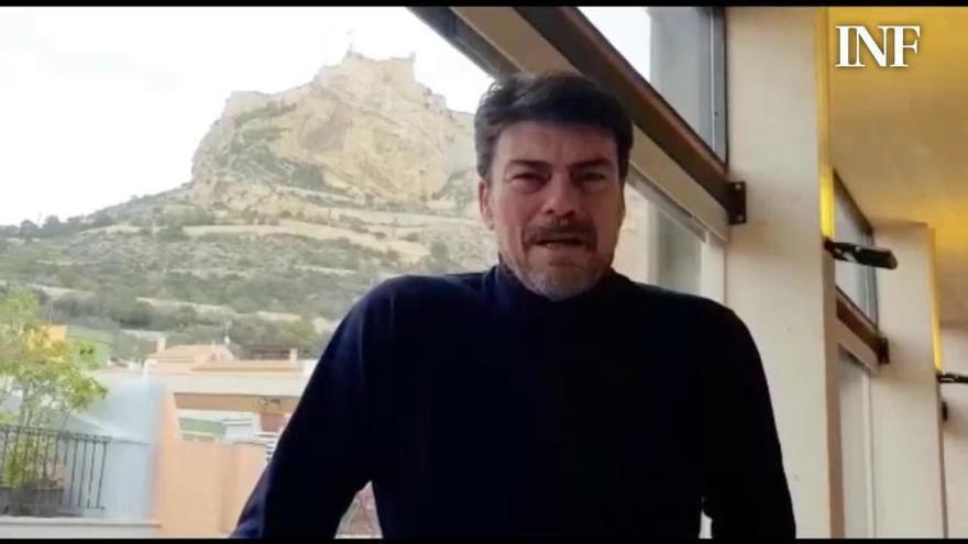 Comunicado del alcalde de Alicante sobre el traslado de la celebración de Hogueras por el coronavirus