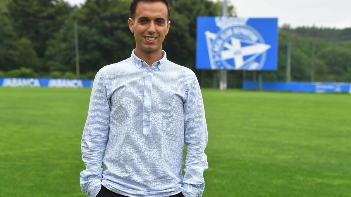 Borja Jiménez, nuevo entrenador del Deportivo.