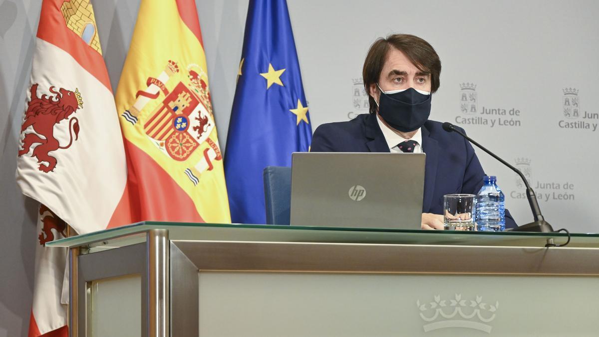 Juan Carlos Suárez-Quiñones, consejero de Agricultura en funciones.