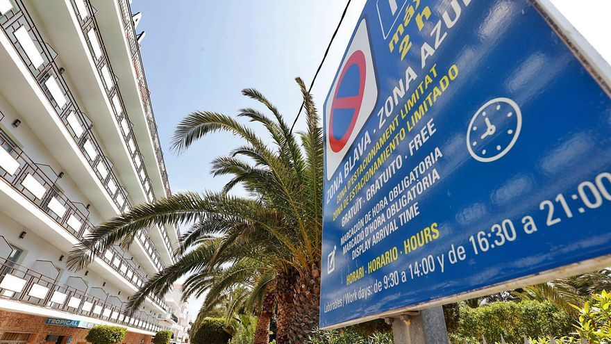 Sant Antoni proyecta recuperar y ampliar la zona de aparcamiento de pago en 2022