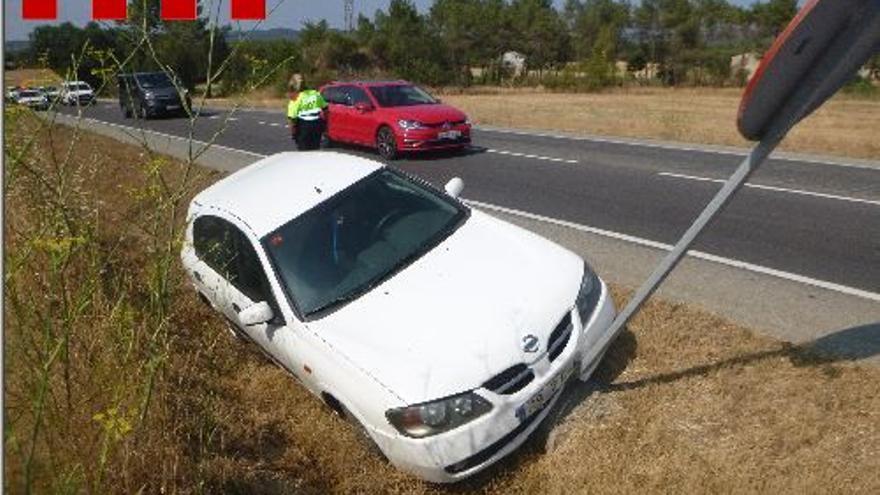 Denuncien penalment un conductor begut que multiplicava per cinc la taxa permesa a Llagostera