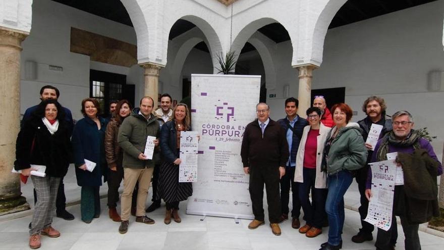 Visitas guiadas, rutas teatralizadas, exposiciones, talleres y música, entre las 120 actividades de 'Córdoba en púrpura'