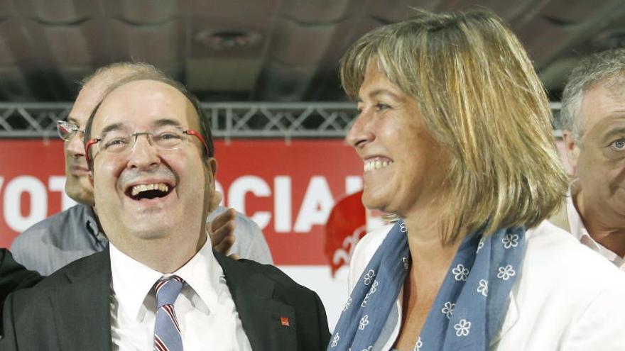 La alcaldesa de L'Hospitalet, número dos del PSC