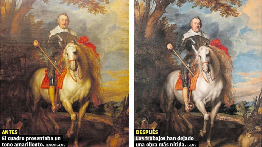 Francisco de Moncada vuelve al Bellas Artes