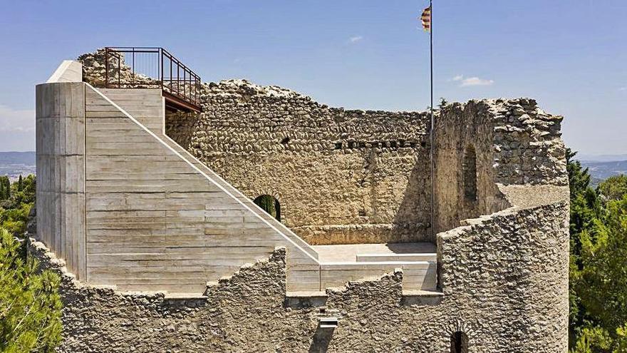 La restauració del castell de la Tossa optarà al premi Catalunya Construcció