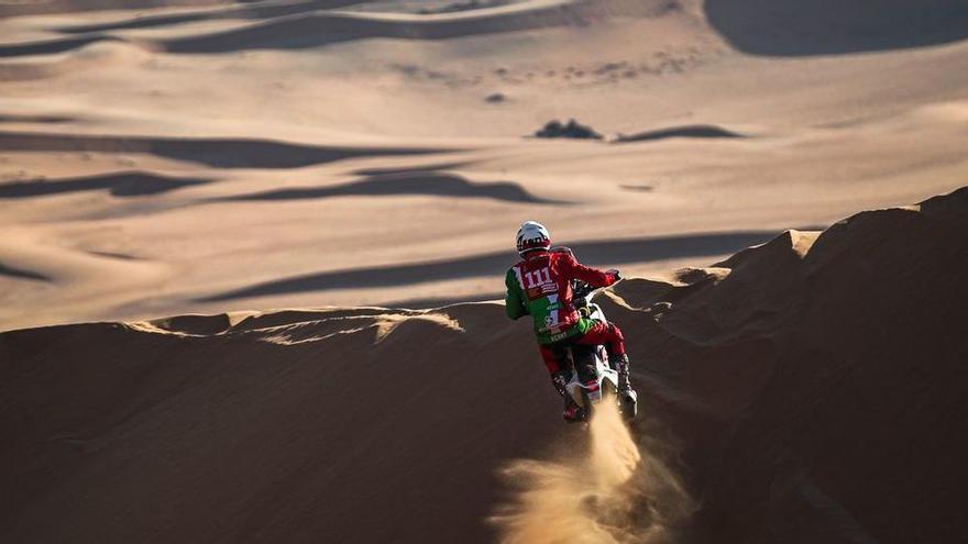 Mor el pilot francès de motos Pierre Cherpin, accidentat al Dakar