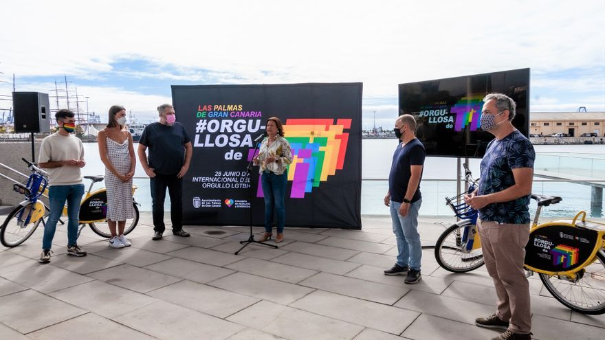 Las Palmas de Gran Canaria reivindica la diversidad con motivo del Día del Orgullo LGTBI+