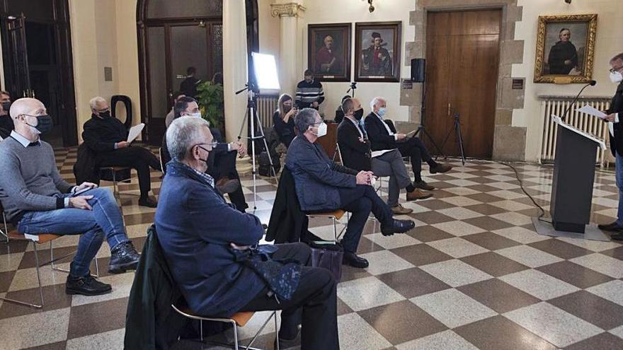 L'arquitecte Jordi Ludevid reivindica a Manresa el valor de les professions