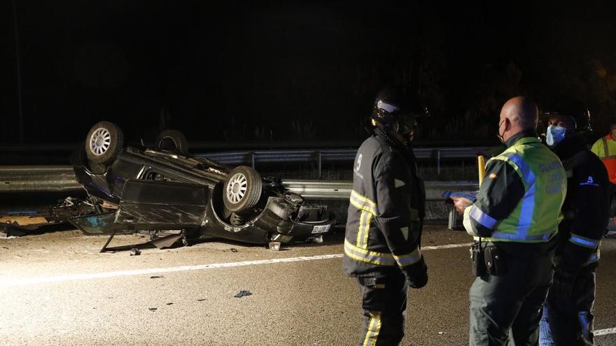 Así fue el accidente de Villaviciosa en el que fallecieron dos mujeres