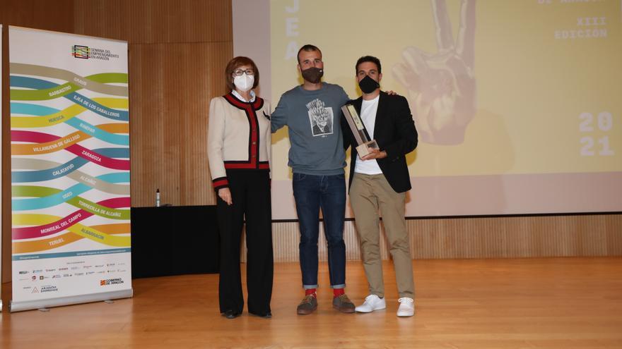 Héctor Paz, cofundador de Imascono, gana el XIII Premio Joven Empresario de Aragón