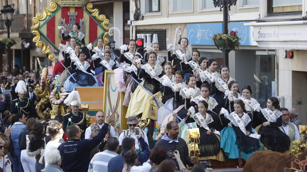 Imagen del Pregó infantil del 2019, el último que se celebró en Castelló.