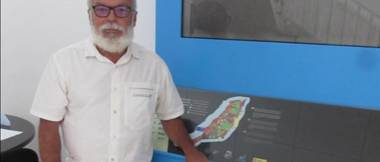 Tony Gallardo, director de la Reserva de la Biosfera de Fuerteventura.