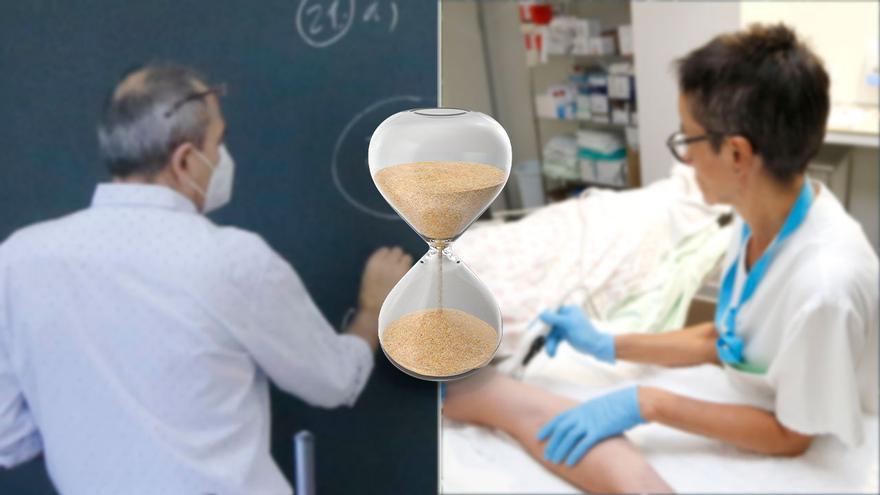 La solución a la tasa de temporalidad laboral en sanidad y educación se pospone un año