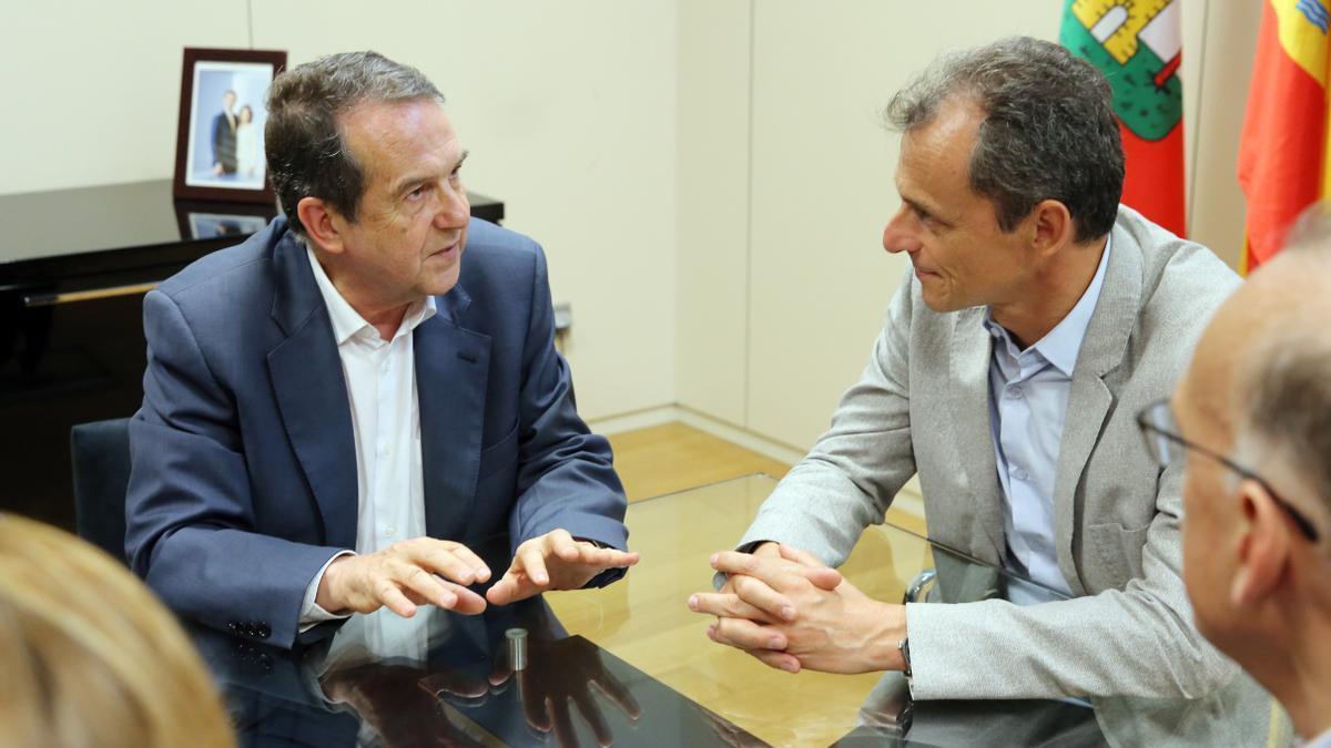 Duque y Caballero, en un encuentro en 2019