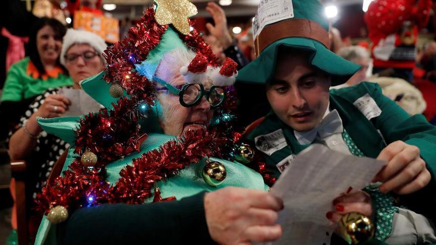 Lotería de Navidad 2019: disfraces y nervios en el Teatro Real