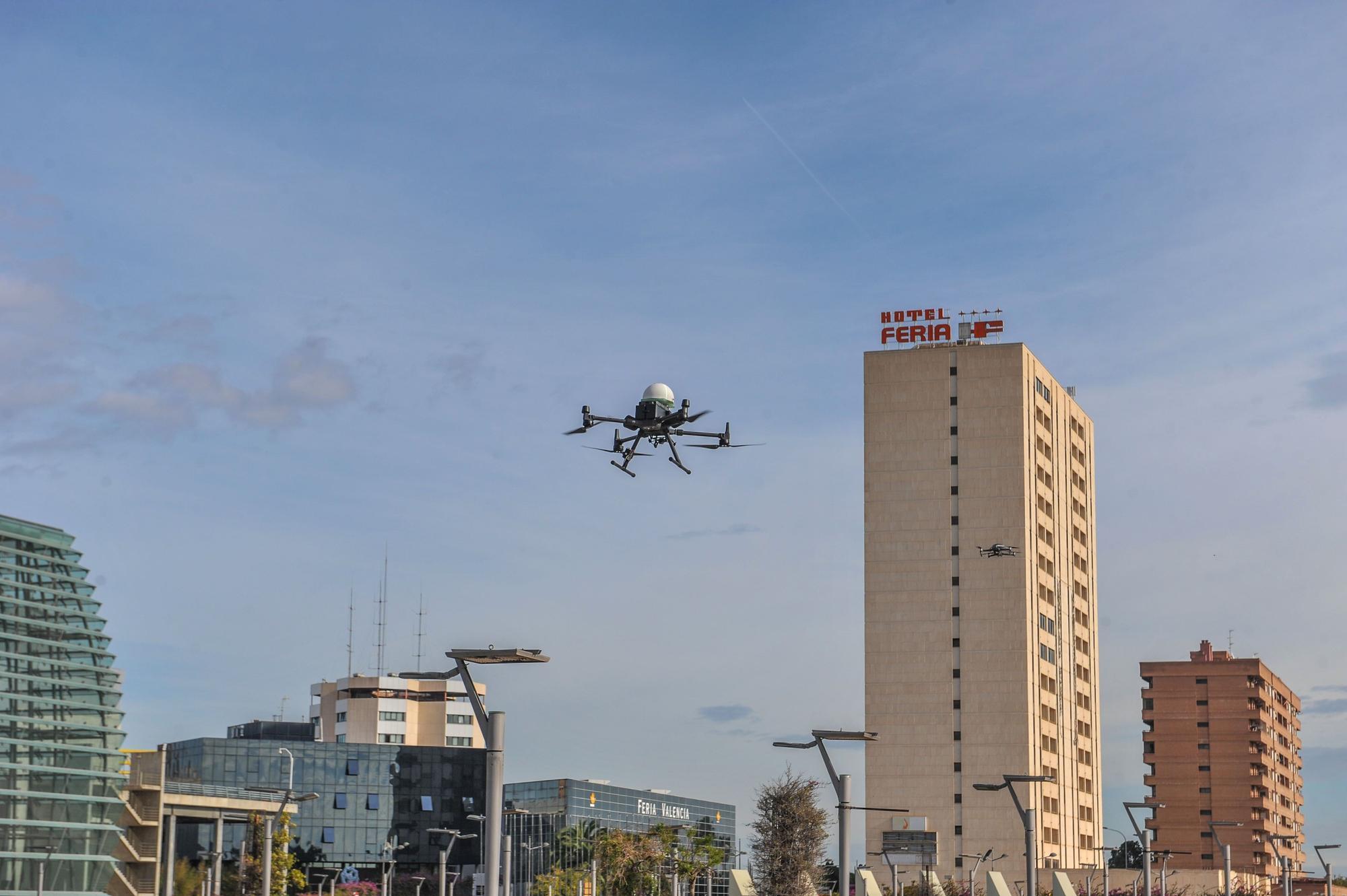 Drones para transportar material sanitario en plena pandemia