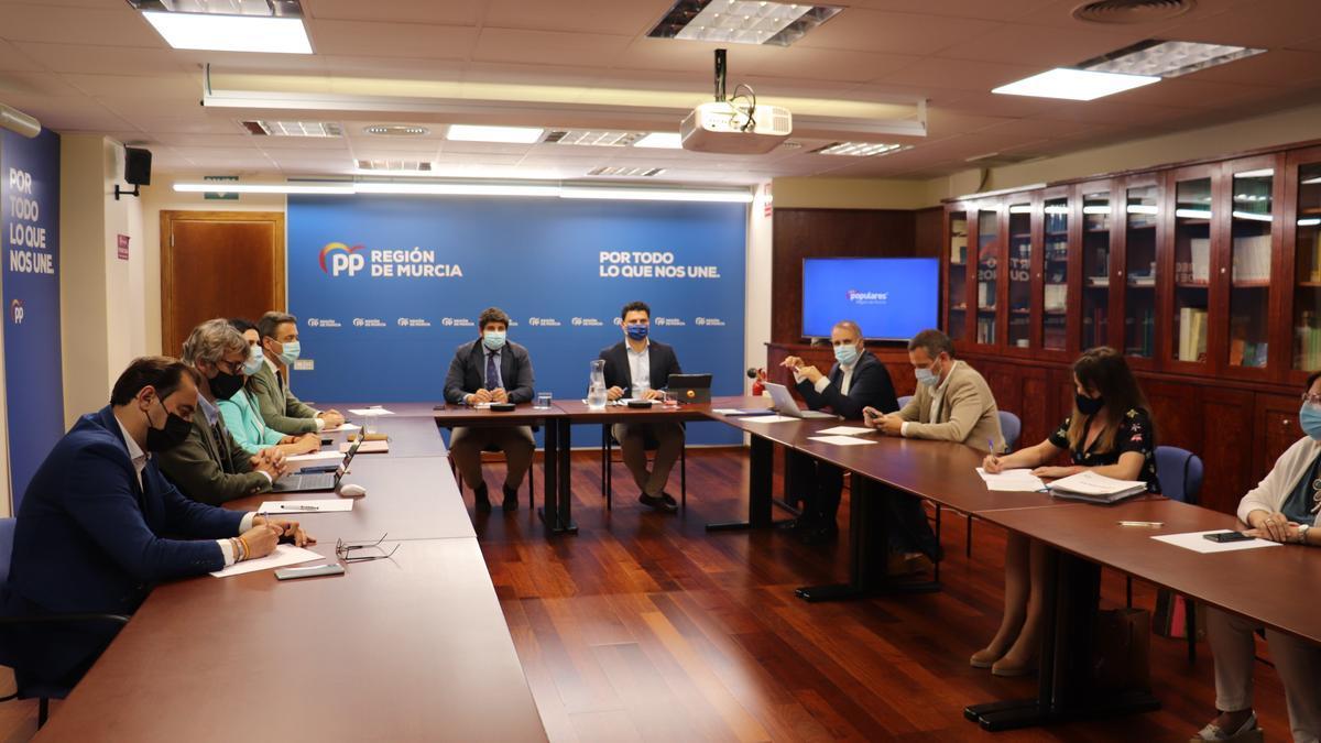 Comité ejecutivo del PP, este lunes por la tarde.