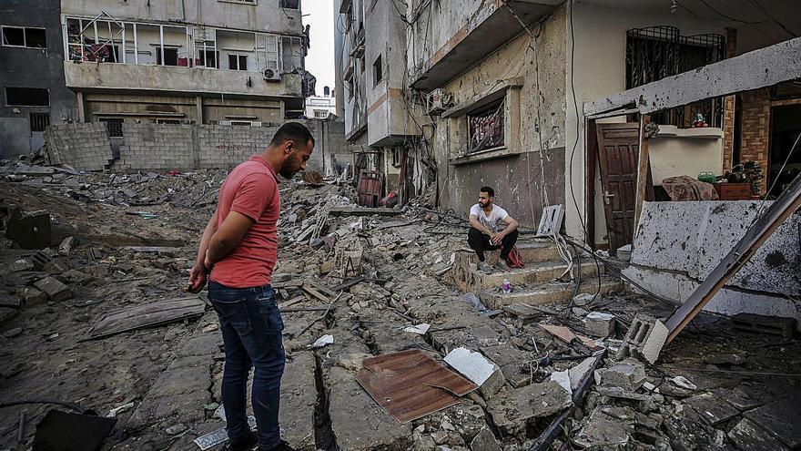 """""""Nos da igual el lugar, solo queremos salir vivos de Gaza"""""""