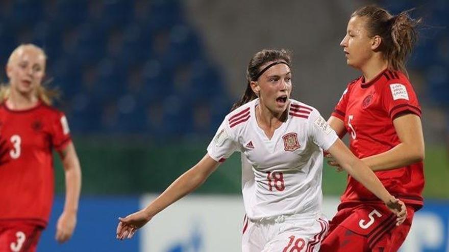 España, bronce con la yeclana Eva María Navaro como goleadora