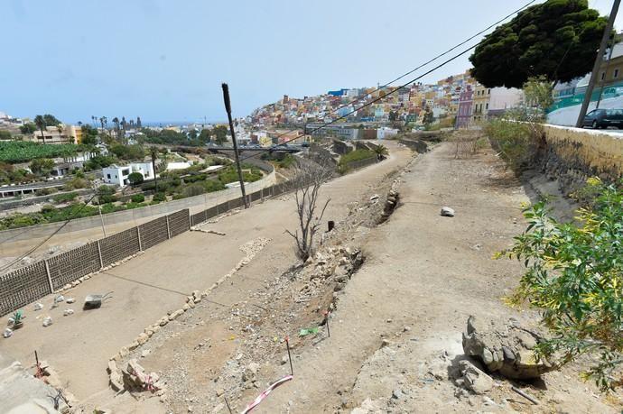 28-08-2020 LAS PALMAS DE GRAN CANARIA. Bancales vacíos frente al Pambaso (bajo la calle Farnesio, en San Roque). Fotógrafo: ANDRES CRUZ    28/08/2020   Fotógrafo: Andrés Cruz