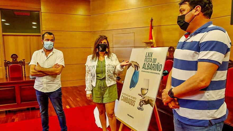 Julia González repite triunfo en el concurso de carteles de la Festa do Albariño