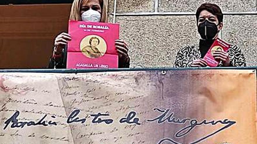 Redondela anima a regalar un libro y una flor por el Día de Rosalía