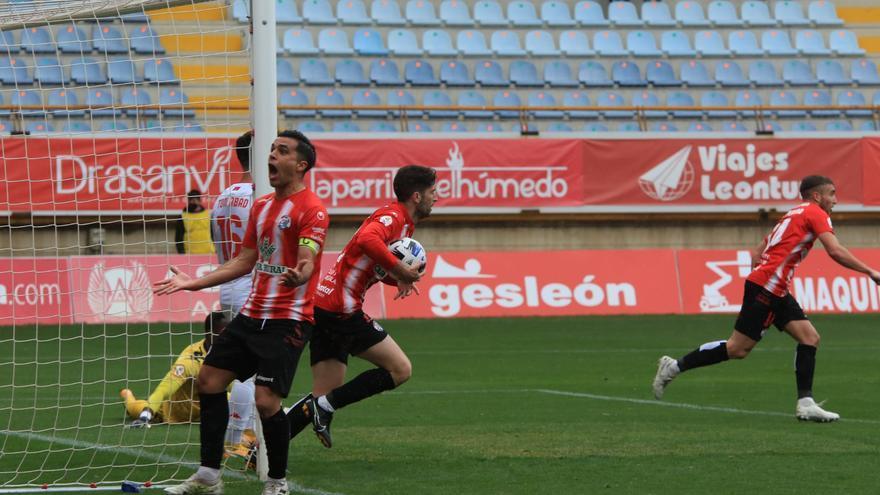 GALERÍA | Las mejores imágenes del partido Cultural Leonesa-Zamora CF (2-3)