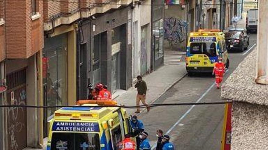 Cuatro intoxicados en Zamora por el humo de un motor