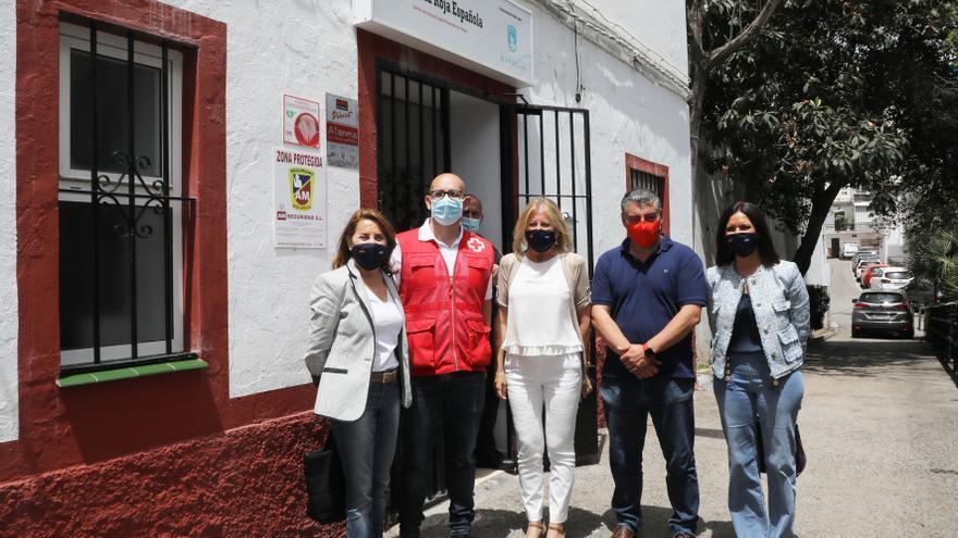 Marbella agiliza la vacunación de personas sin hogar
