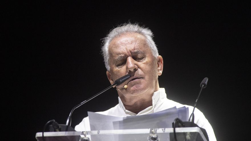 Víctor Manuel clama por la memoria minera en La Unión