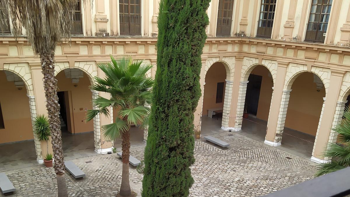 Interior del Conservatorio Superior de Sevilla.
