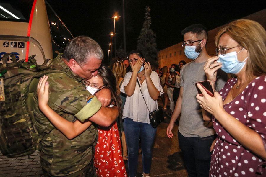 Emotiva bienvenida a las tropas de la Brigada a su regreso de Letonia