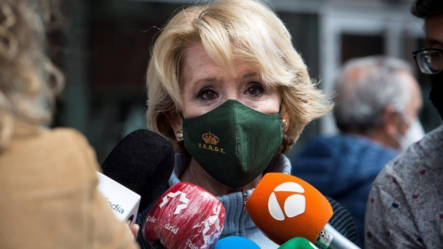 """Aguirre afirma que la estrategia de Casado """"no ha dado resultado"""" y le pide seguir """"la de Ayuso"""""""