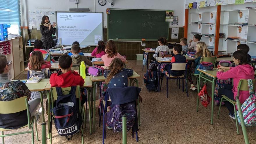 El Consorci propone medidas de ahorro energético en quince escuelas de la Ribera