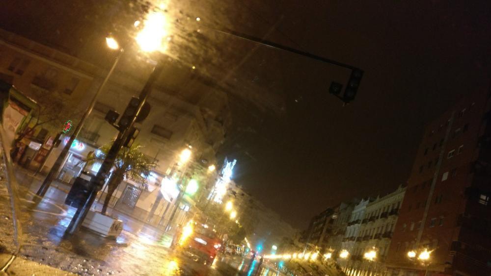 En el cruce de Cardenal Benlloch con Avenida del Puerto fallaron los semáforos