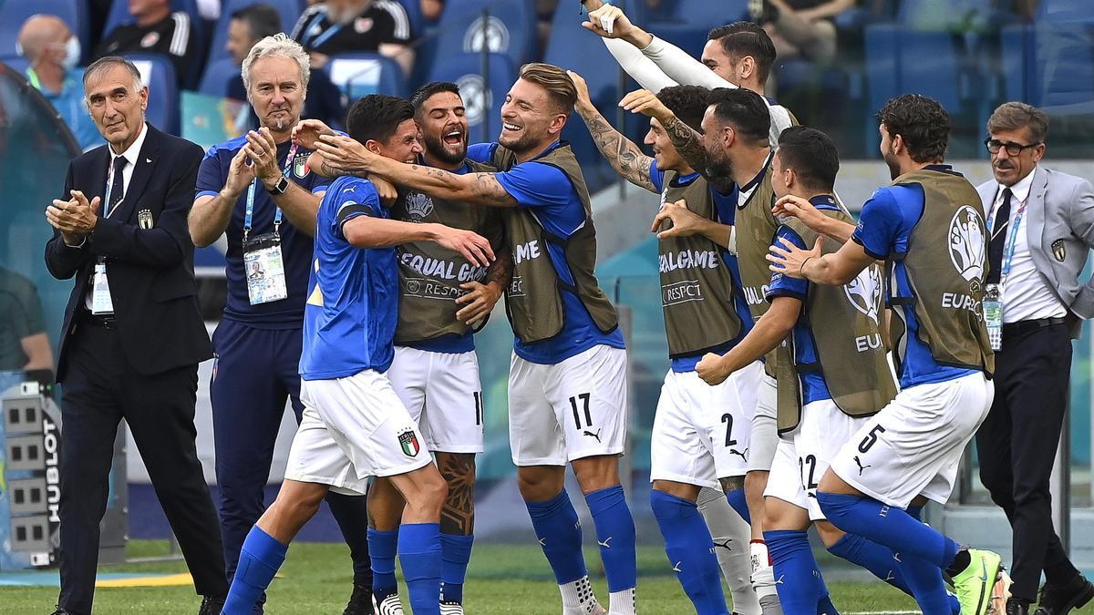 Los italianos se medirán a Austria en la Eurocopa.