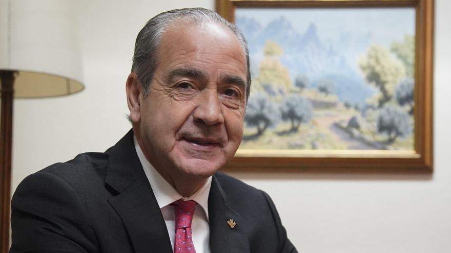 El director general de Caja Rural de Zamora, Cipriano García. | José Luis Fernández