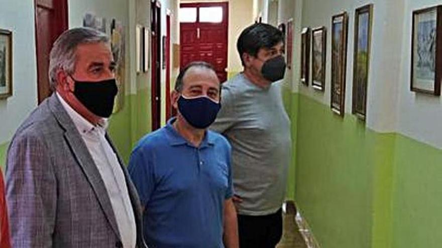 Los artistas del Caudal (ARCA) exponen en el centro cultural de Santa Cruz