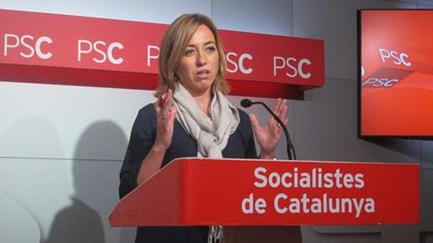 La Generalitat concedeix a Carme Chacón la Creu de Sant Jordi a títol pòstum