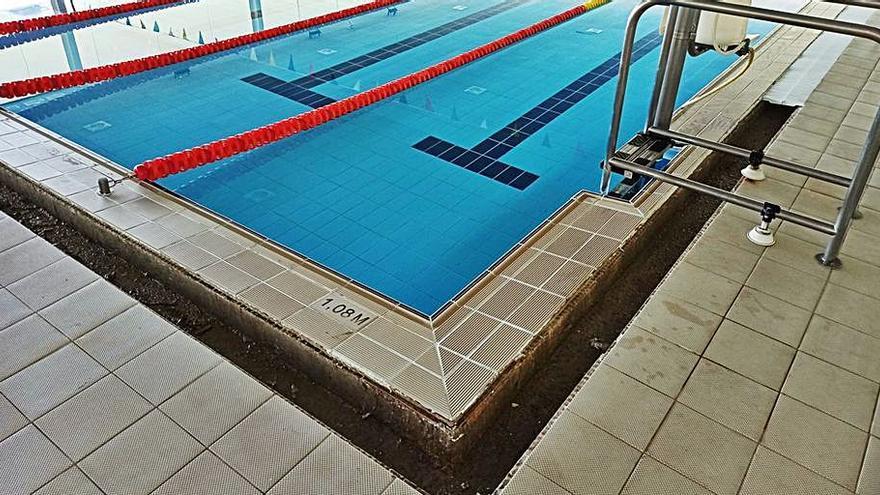 Cerrada por obras hasta el próximo 31 de julio la piscina Rudy Fernández