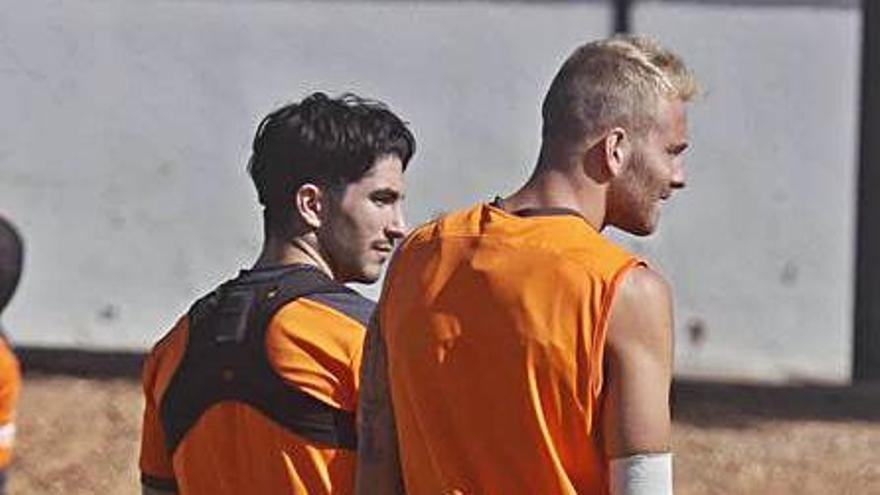 Soler y Racic, en Paterna. | J.M. LÓPEZ
