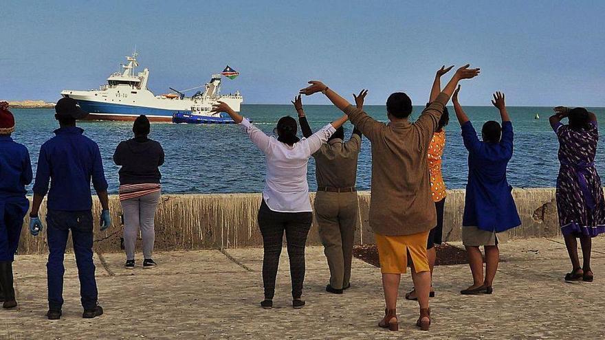 Pescanova adelanta a la próxima semana la clausura de Lüderitz