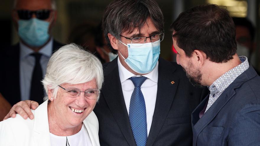 Puigdemont sale en libertad