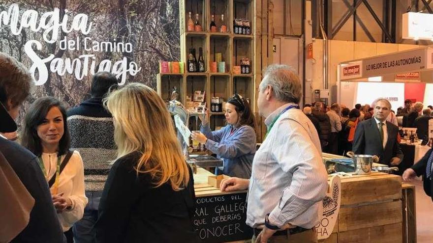 El Mercado de la Cosecha muestra el potencial del medio rural gallego en Fitur
