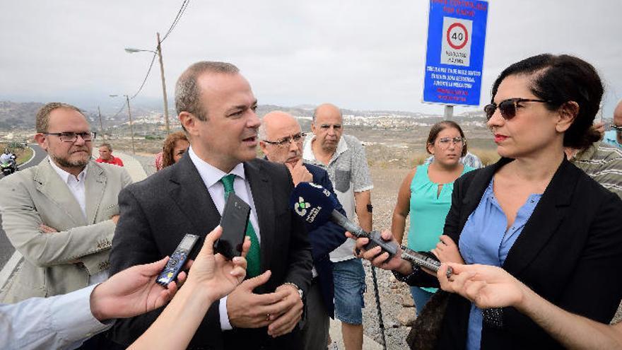 Hidalgo afirma que el impago a la constructora de las viviendas de Tamareceite es un caso puntual