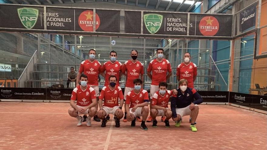 Viriato Pádel Caja Rural, campeón de la Liga Regular en las Series Nacionales