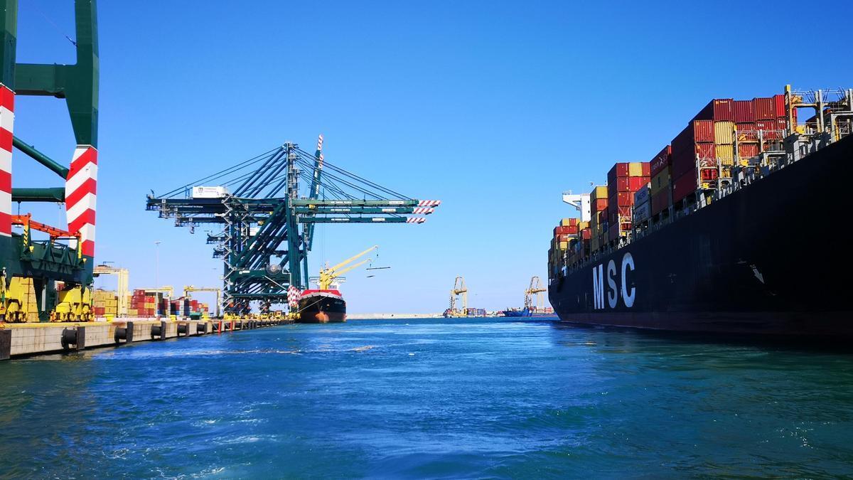 Terminal de contenedores de Valenciaport