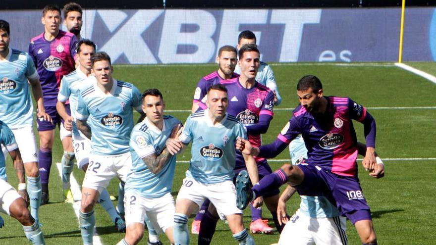 Murillo rescata un punto para el Celta ante el Valladolid en el último suspiro