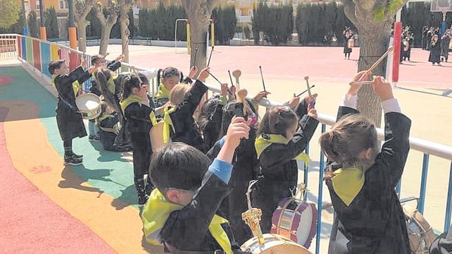 La tamborada infantil inaugura los actos en Mula