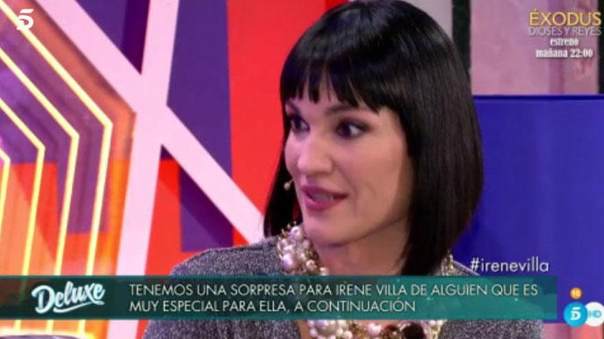 Irene Villa, optimismo en el 'Deluxe' en su momento más difícil